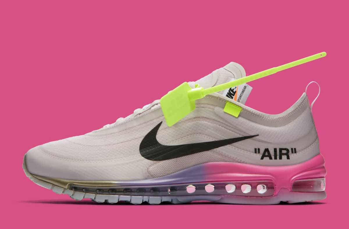OFF White x Nike Air Max 97 Queen Femme