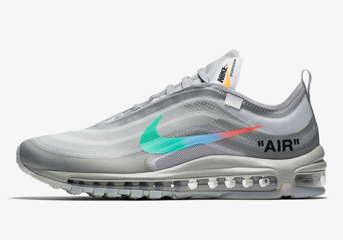 OFF WHITE x Nike Air Max 97 Menta Homme