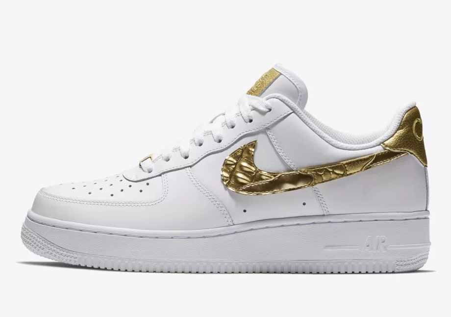 Nike Air Force 1 CR7 Golden Patchwork Low Homme Et Femme